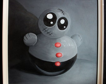 Toy NR.1; oil painting