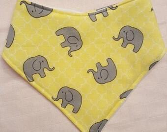Elephant Bandana Bib