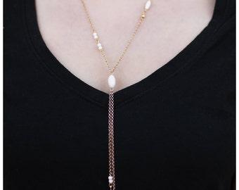 A Double Shot Gold Necklace
