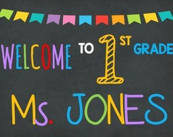 Teacher Classroom Door Sign