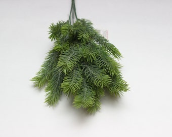 Pine branch plastic Christmas plant Artificial leaves Filler Plastic leaves Artificial bouquets Fake leaves