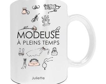 Personalize mug Fashionista full time