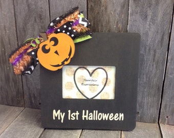 Halloween Picture Frame 4x6 My 1st Halloween