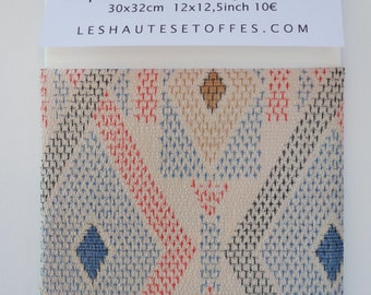 Impression on Japanese silk string