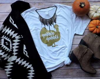 Thanksgiving Shirt | Gobble Gobble |