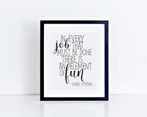 unique mary poppins quotes related items etsy