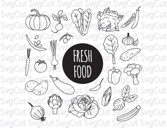 fresh food clip art food monograms nutritional clipart