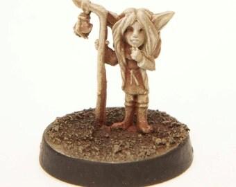 Gnome Girl Miniature Unpainted