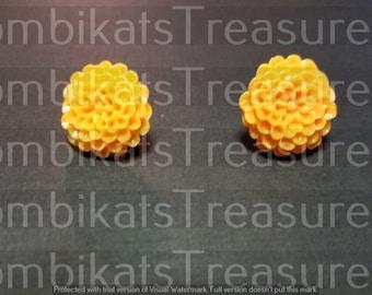 Chrysanthemum Acrylic Earring