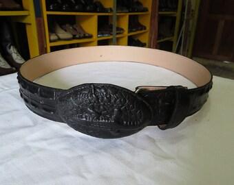 Leather belt / Leather belt handmade