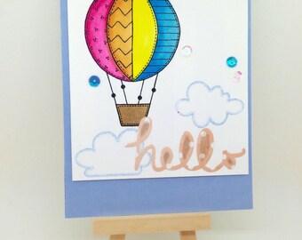 Handmade Hello Card