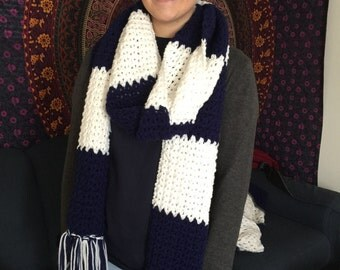 Penn State college winter scarf