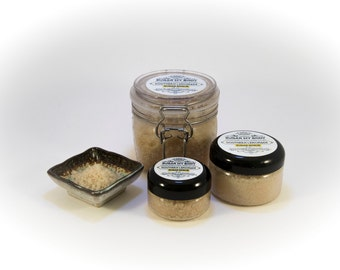 Lemon Sugar Body Scrub - Best Selling Skin Exfoliant for Dry Skin