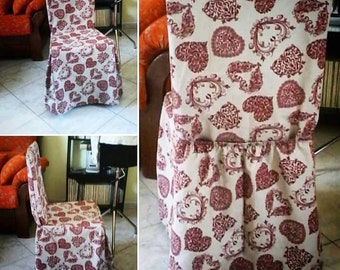 Set of 6 chair covers