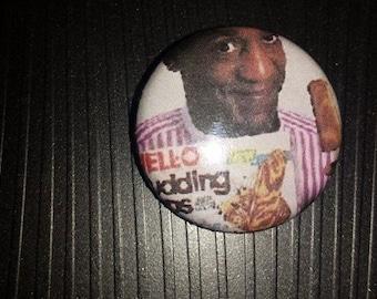 3 Pin Buttons Jello Pudding Pops Bill Cosby 1 inch Button