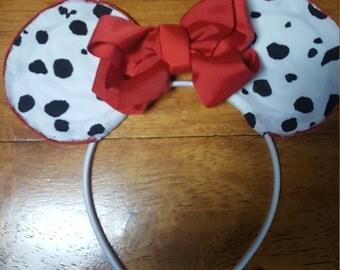 Dalmations Mickey Ears
