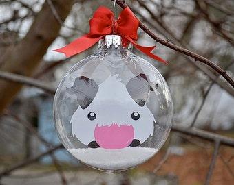League of Legends Poro - Christmas Tree Ornament