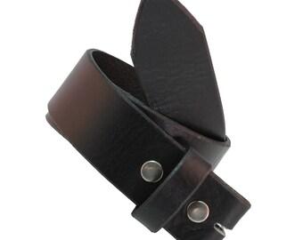 TC100 Men's Full Grain Leather Belt Strap 1.5 Inch (38MM) Wide