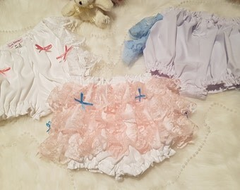 Frilly nappy covers