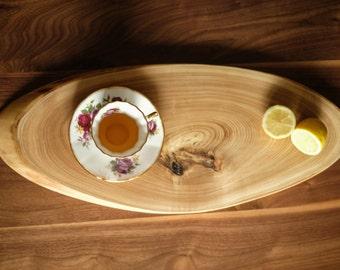 Lrg Rustic Ash Cutting Board // Plate // Home Decor
