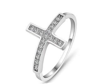 Cross ring size 8
