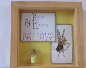 Personalised fairy frame