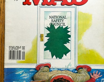 Mad Magazine National Safety Cancel This Issue Sept 1979 No. 209 Issue Jimmy Carter