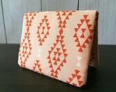 Card Wallet - Orange Nomad