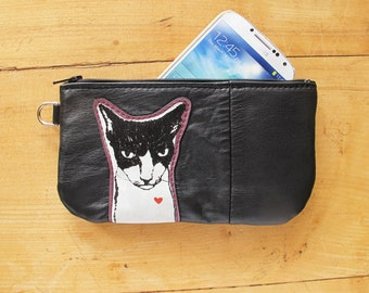 Mean Kitty Phone or Pencil Case