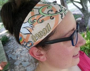 Headband | Yoga Headband | Athletic | Sporty | Spandex | Wide  | Activewear Headband