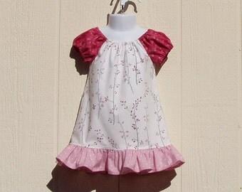 Toddler Peasant Dress, Spring Fling, 18 Months, Cotton