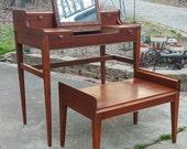 Mid Century Vanity Small Desk Cavalier Furniture