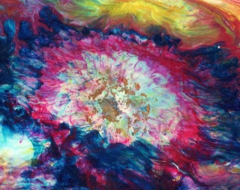 tie dye painting
