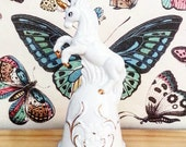 Unicorn Bell- Room Decor- Fantasy Decor- Home Decor- Boho Decor- Whimsical Decor- Unicorn figurine- Boho Chic- Bohemian- Perfect Gift- Love