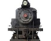 "CUSTOM Steam Train Wall Decal 40"" wide x 60"" Tall - Priority Ship FRI"