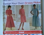 Simplicity 7102 Dress Pattern from 1996 - Uncut - Sizes XS, S & M