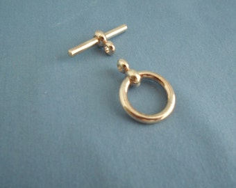 Toggle Clasp Sterling Silver 25.6 MM