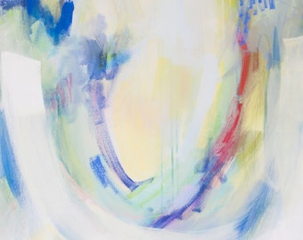 original abstract painting by Brenna Giessen || Titled: Going Under