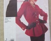 VOGUE Paris Original YSL Yves Saint Laurent Jacket and Skirt Sewing Pattern  14 16 18