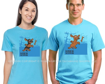 Dachshund T-Shirt Classic Album Series: Dachshunds They Never Mind