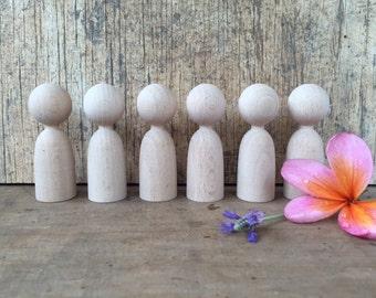 wooden finger puppets