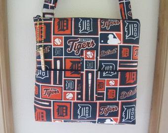 Crossbody Bag Detroit Tigers Hipster Ereader Zipper Case Purse  Bag with Adjustable Shoulder Strap