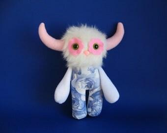 Chelsea Garden Flower Monster Kids Toys Stuffed Animal Doll Plush Toy Gift for Niece Purple Cabbage Rose