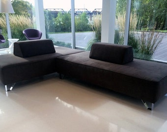 Infinity Seating System - Sofa Base Modular seating system. Designed by J. Sebastian