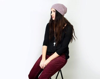 Slouchy Boho Beanie Hat • Choose Color • Loft 415 (No. 1)