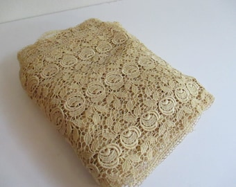 """Approx 4.5 yards of Vintage Lace 8.5"""" wide"""