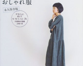 Sewing Natural Popular Simple n Natural Clothes - Japanese Craft Book