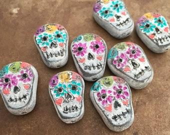 Sugar Skull Bead