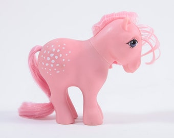 Vintage My Little Pony Cotton Candy - Pink with white dots ~ Pink Room ~  SS005  160924
