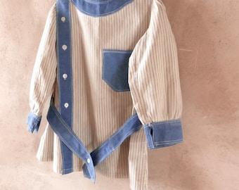 Edwardian Boy's Tunic Size 2 to 3 Year Old